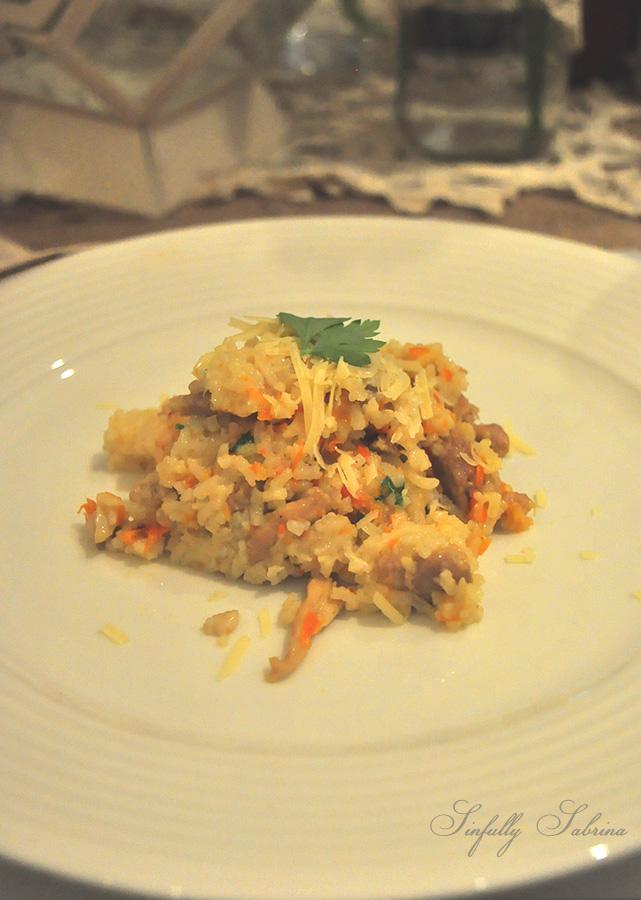 Creamy Chicken Rice -