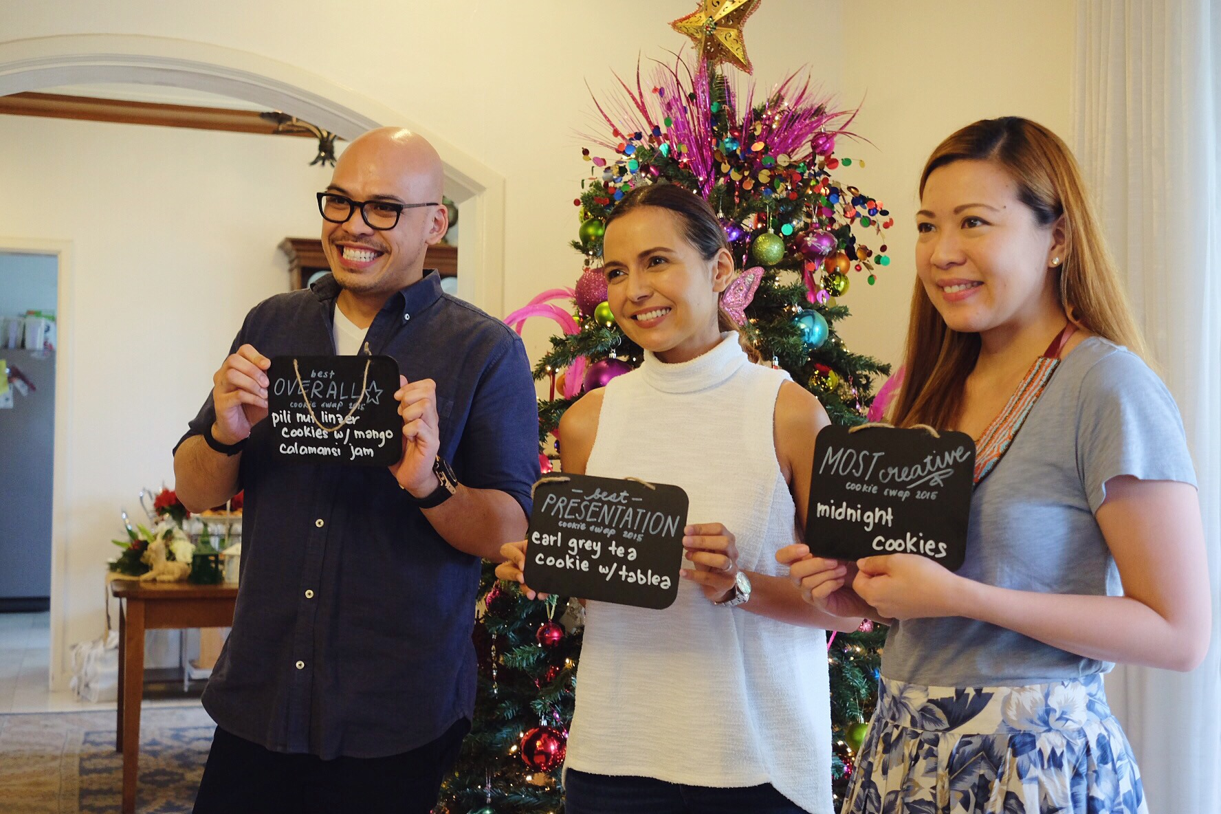 We were in great hands with our judges: Cy, Cat and Joei. -