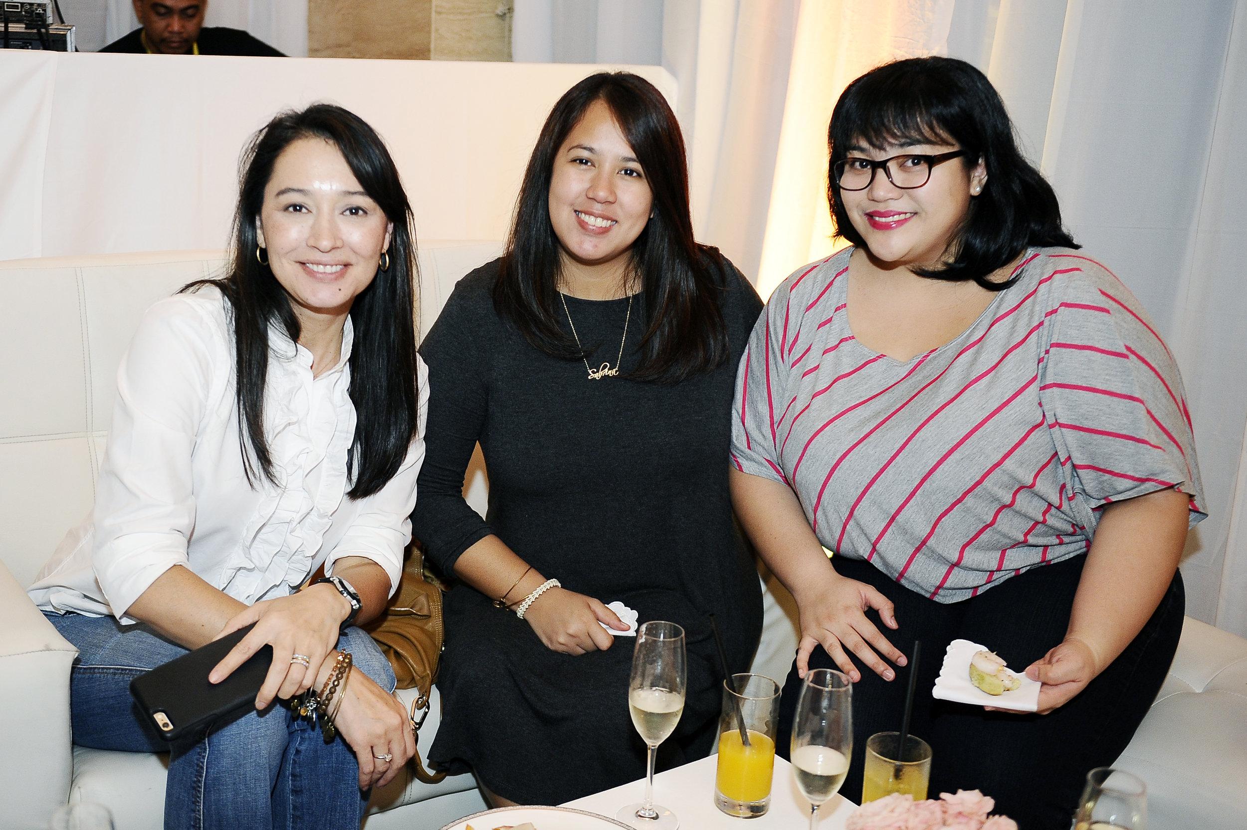 Michelle Aventejado, Momma in Manila; Sabrina Go, Sinfully Sabrina; Patty Cuyugan