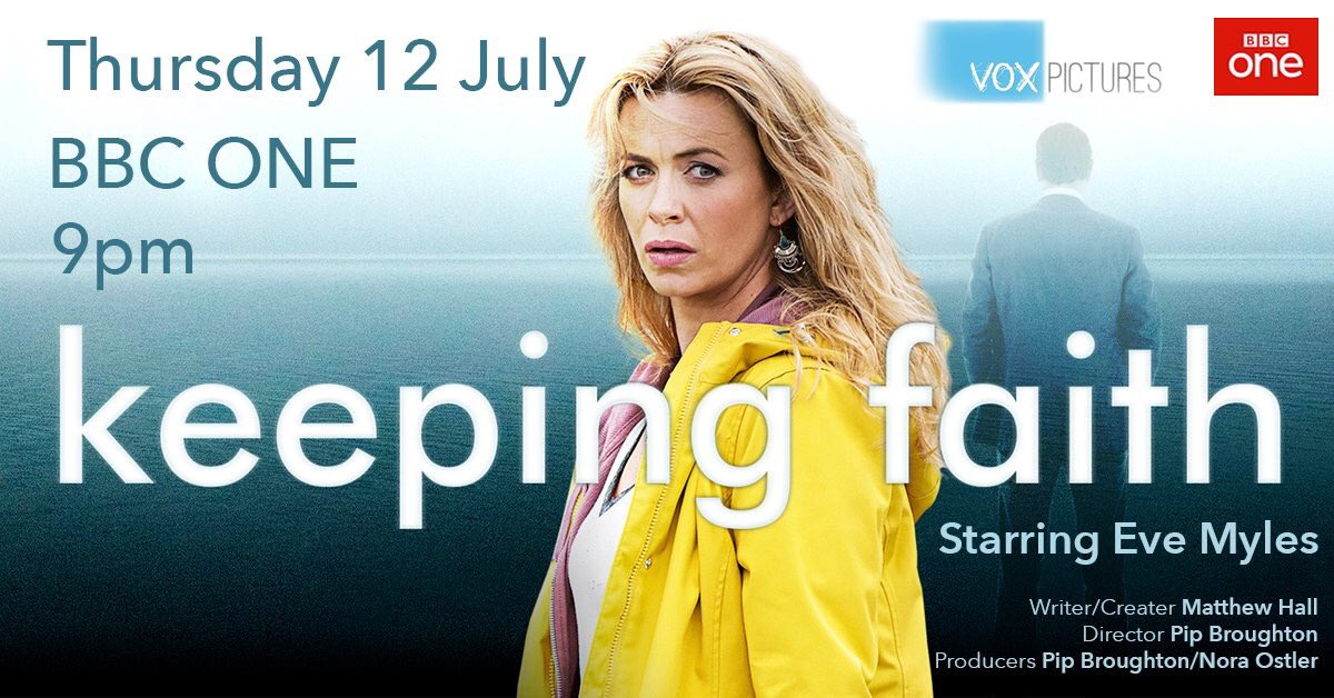 Keeping Faith - The record-breaking drama series starring Eve Myles begins on Thursday 12th July at 9pm on BBC One!