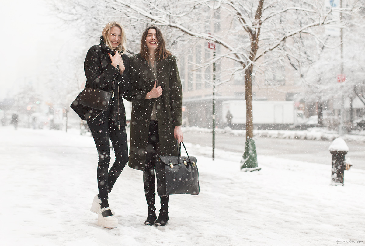 tine-peduzzi_and_luisa-orsini-nyc-fashion-week-snow.jpg