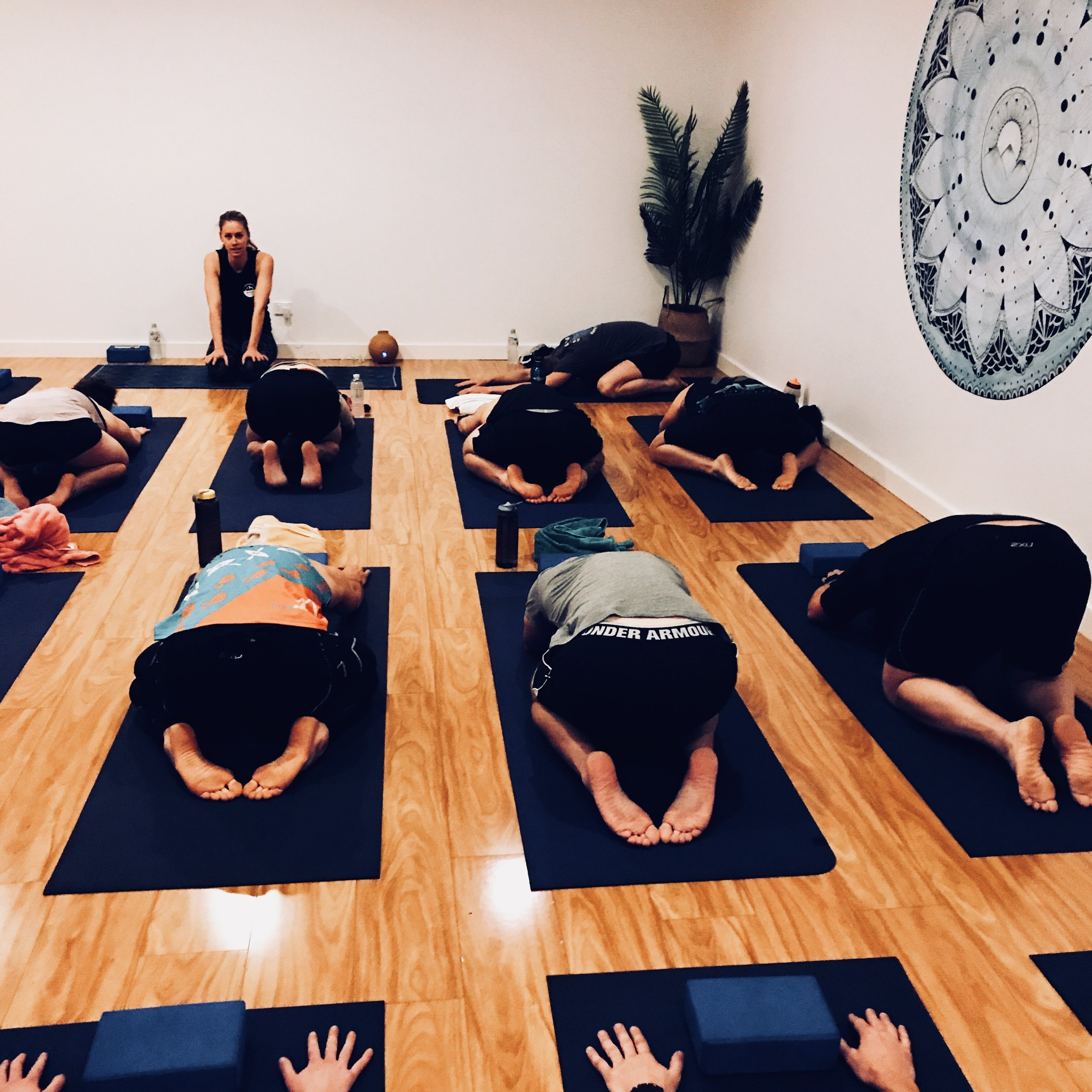 HoT YOGA - 9:30AM & 10:30AM Sessions $15ppJoin Elyse from @BrightBootCamp for some Hot Yoga in the brand new studio. Relax, unwind, sweat and refresh body & mind. Register online here.