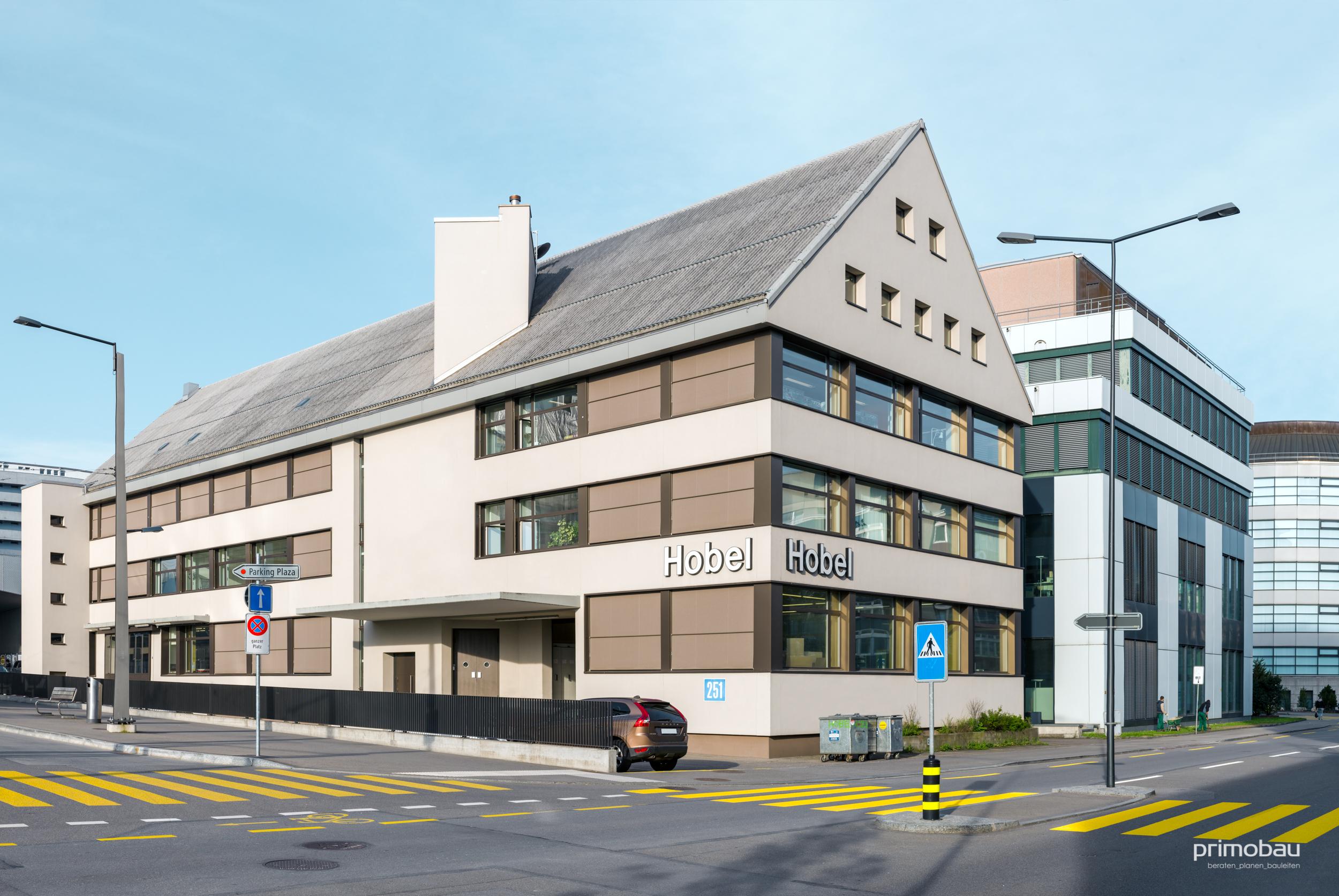 Schreinereigenossenschaft Hobel, Zürich Altstetten  Aussenrenovation, Gewerbe