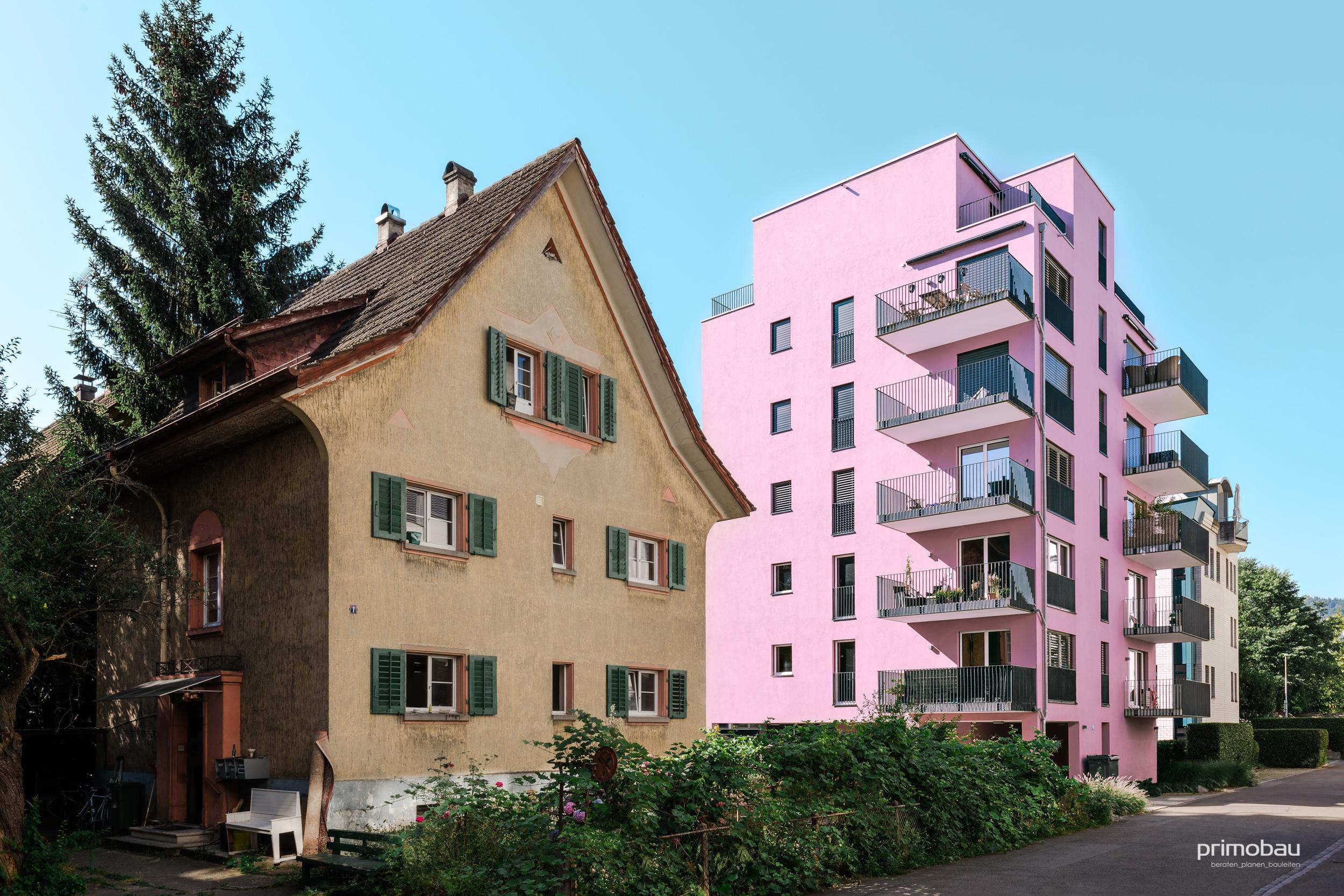 Soldanellastrasse, Zürich Altstetten  Neubau, 11 Wohnungen
