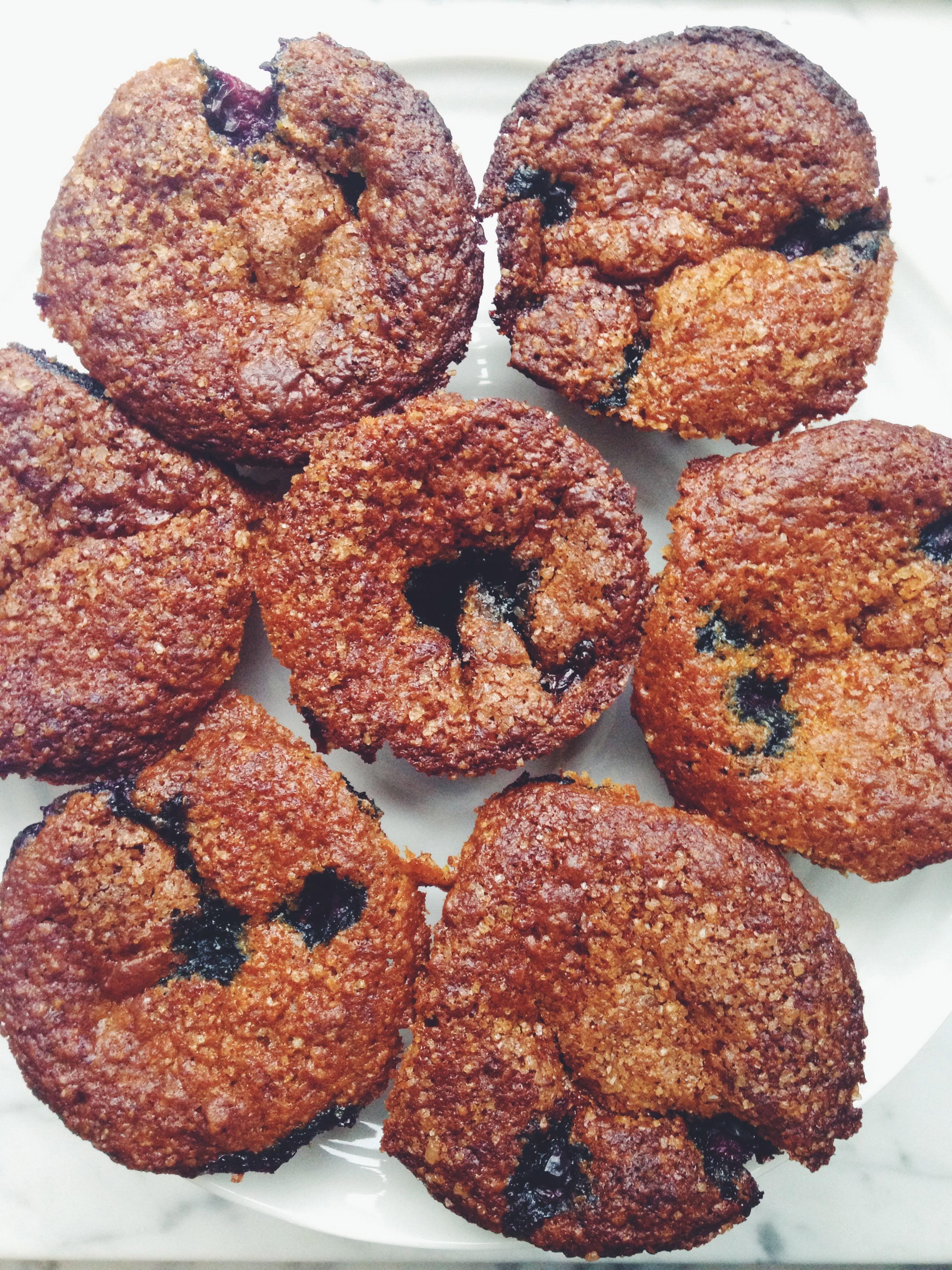 Blue Sky Bran Muffins from Smitten Kitchen