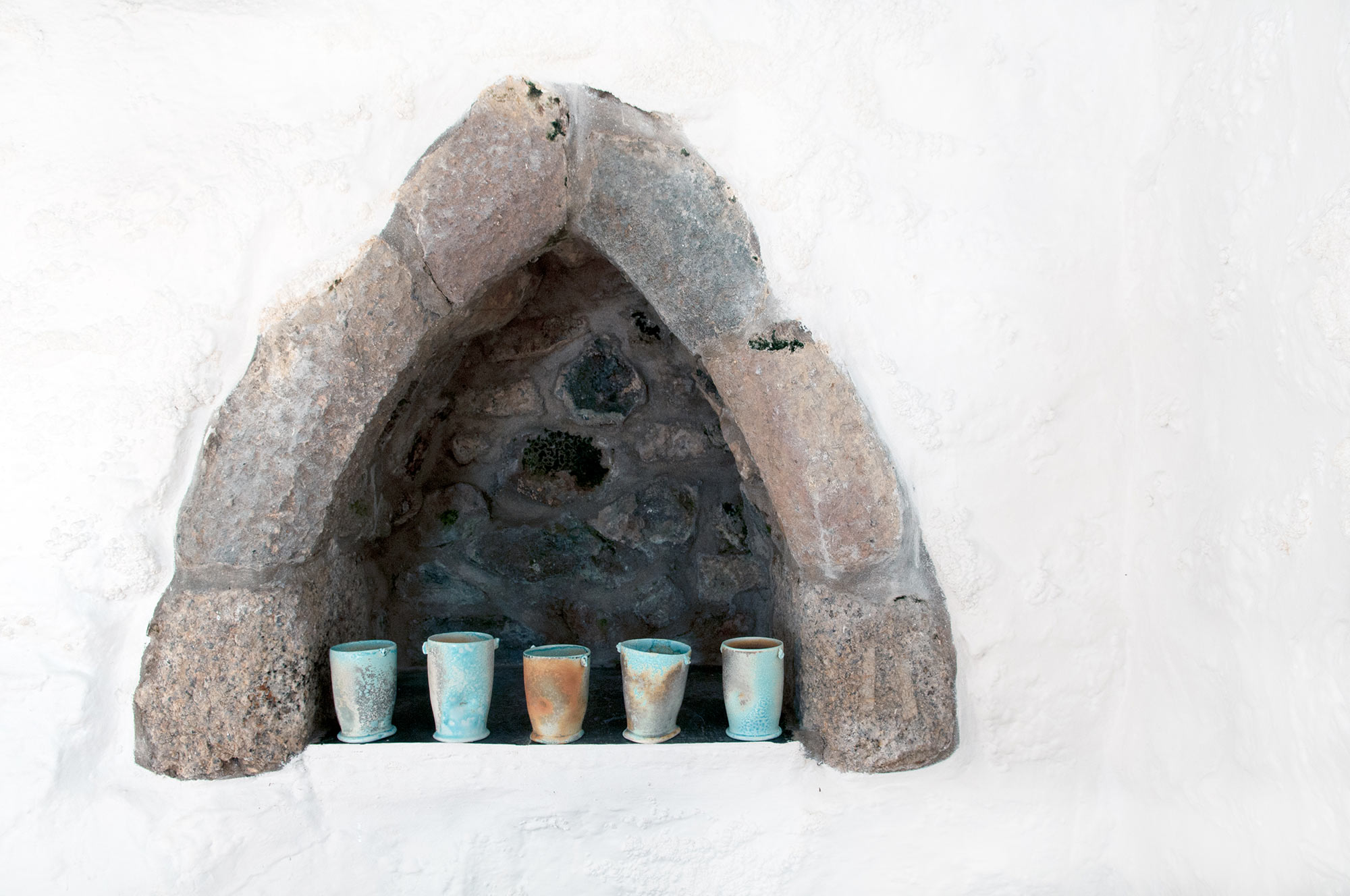 A simple cup form is fundamentally one of the most personal and intimate objects we use everyday or raise up in celebration to mark special occasions. A blessing is given as sign of protection, safe passage and thanksgiving. These blessing cups reveal the hand of the maker and the energy of making.