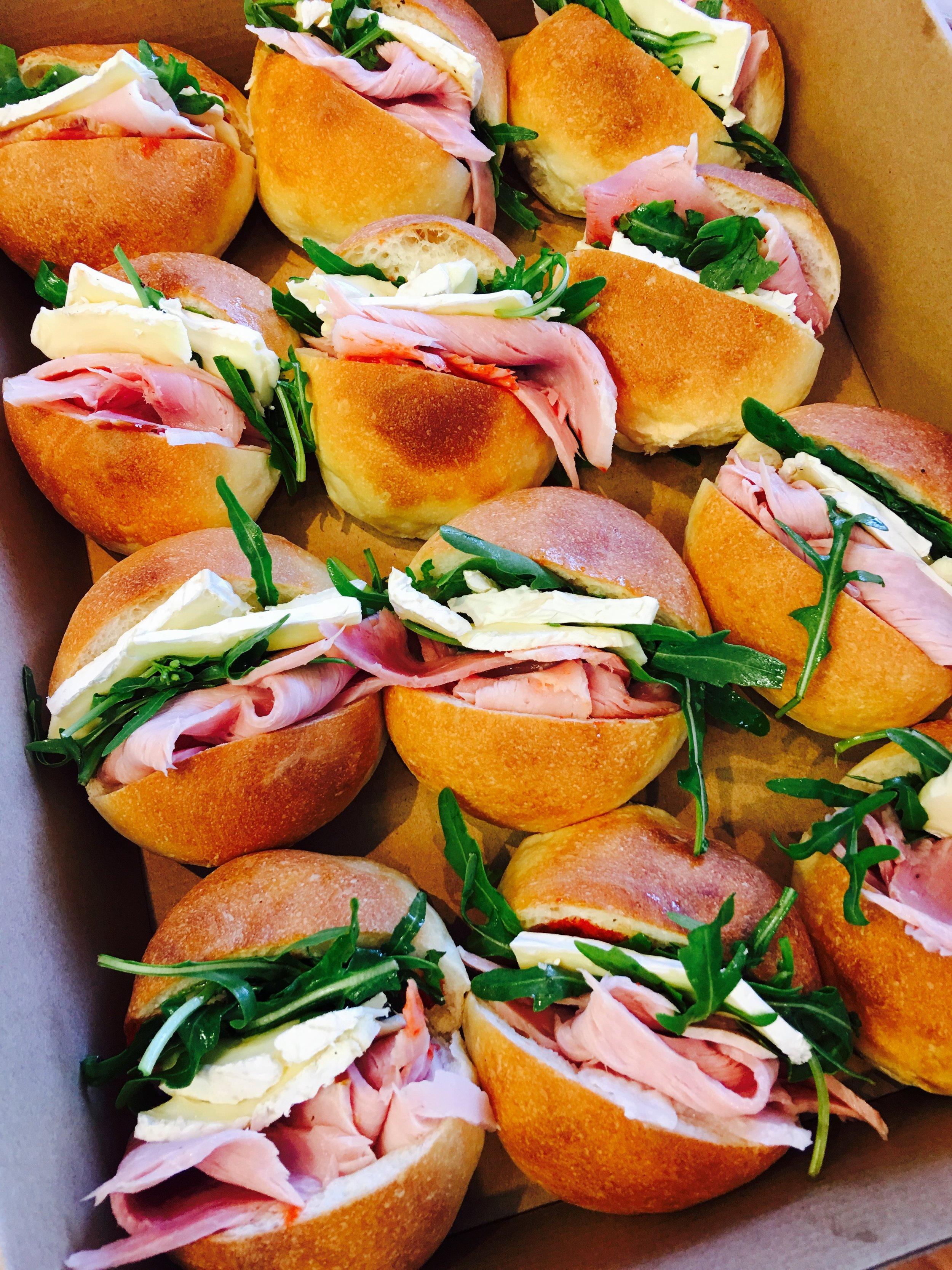Ham and Brie Paninis