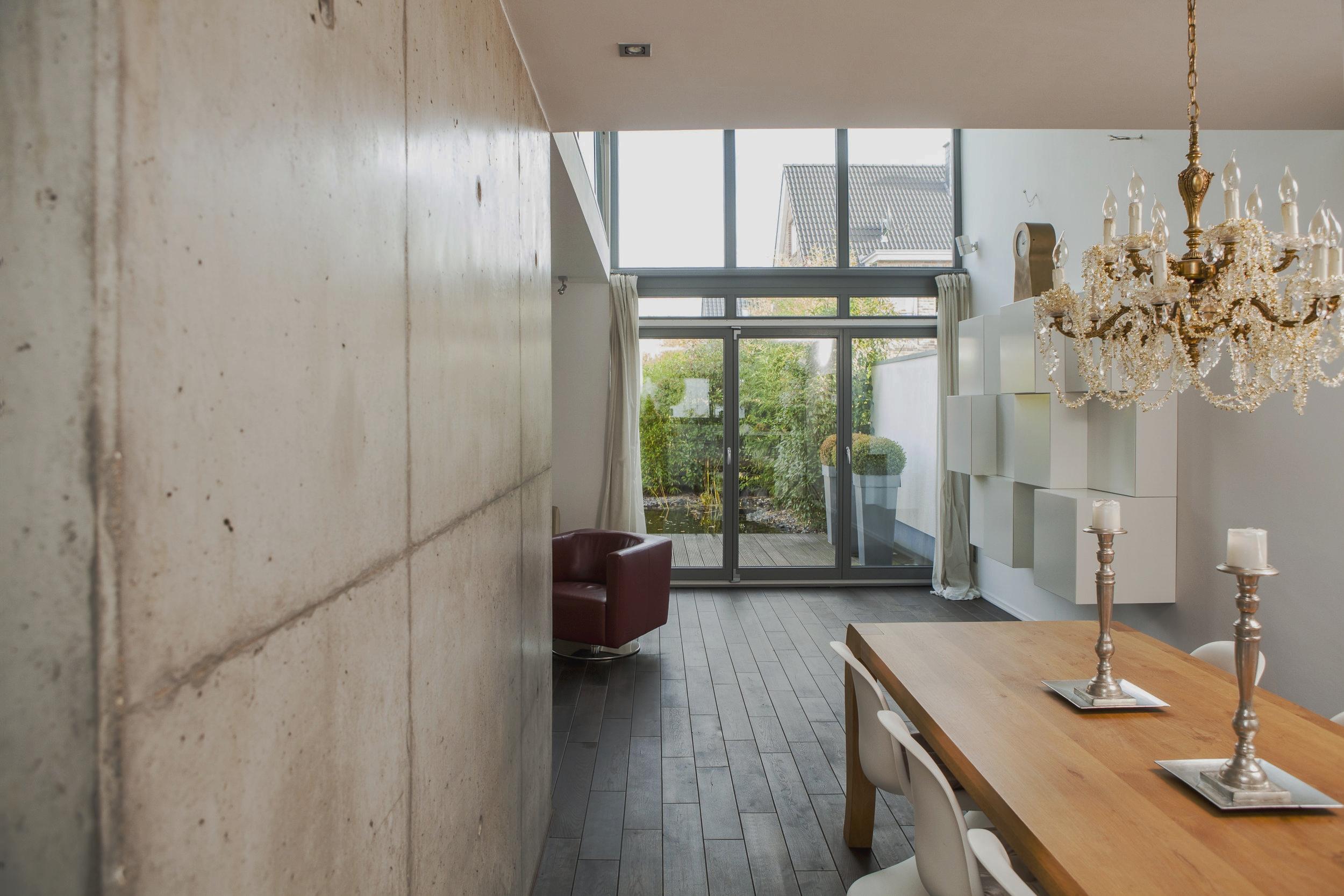 Wohnhäuser - entstehen durch intensiven Austausch, mit viel Einfühlungsvermögen und kreative gestalterische Umsetzung der Wünsche der Bauherren