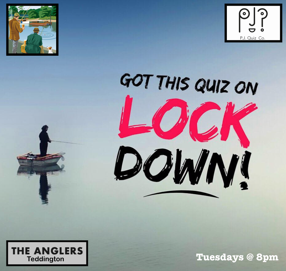 Tuesday Nights: - The AnglersTeddington Lock,South West London / Middlesex8pm - 10pm