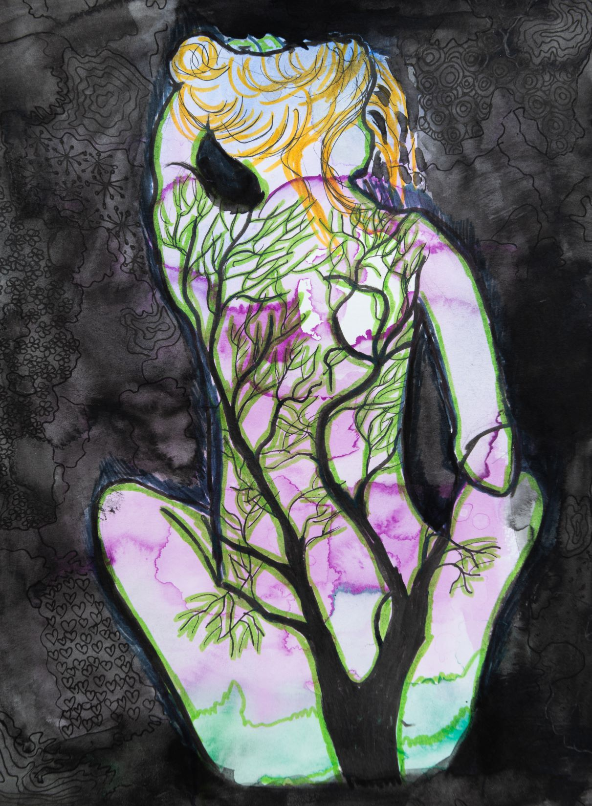 Sally Saint Art -  tree goddess m.jpg