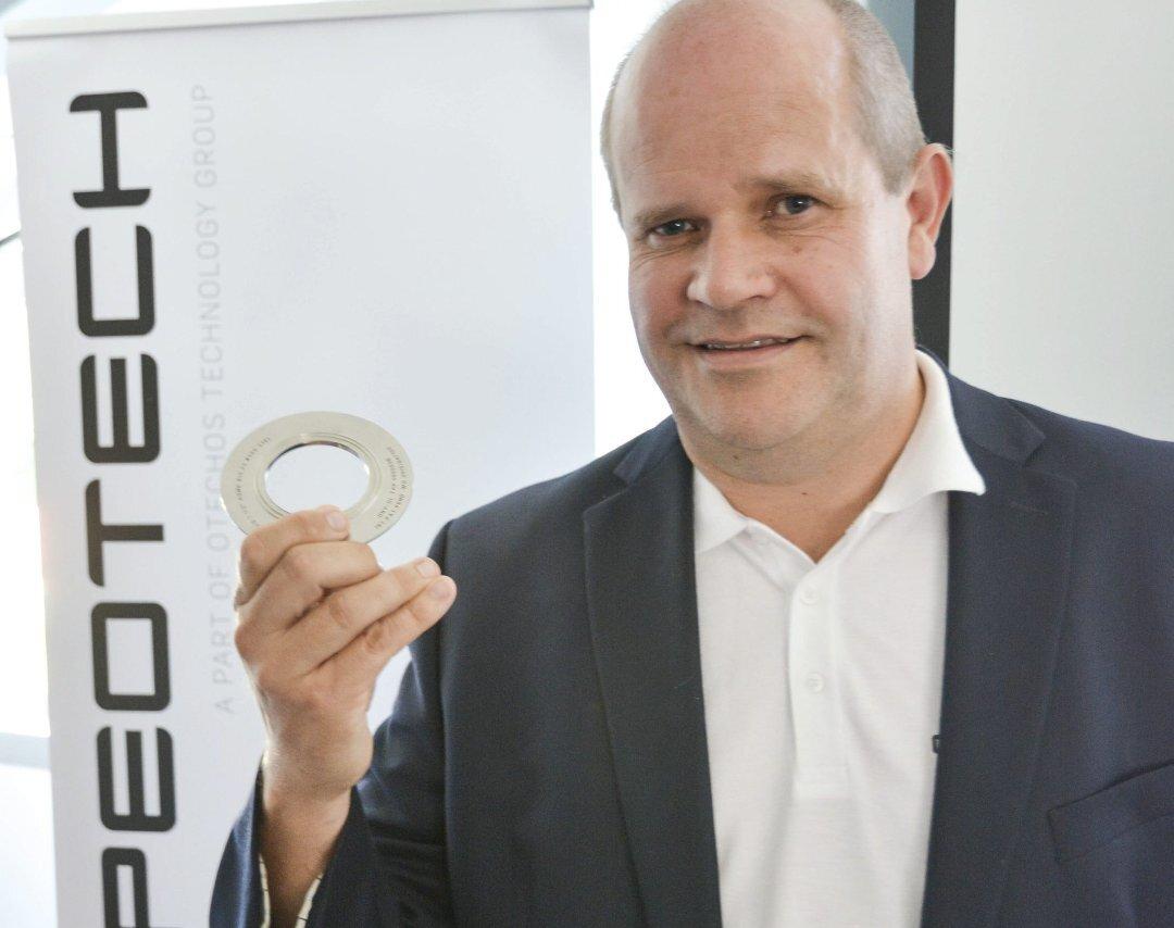 Nils Christian Mathisen er fornøyd  Photo: Tvedestrandsposten