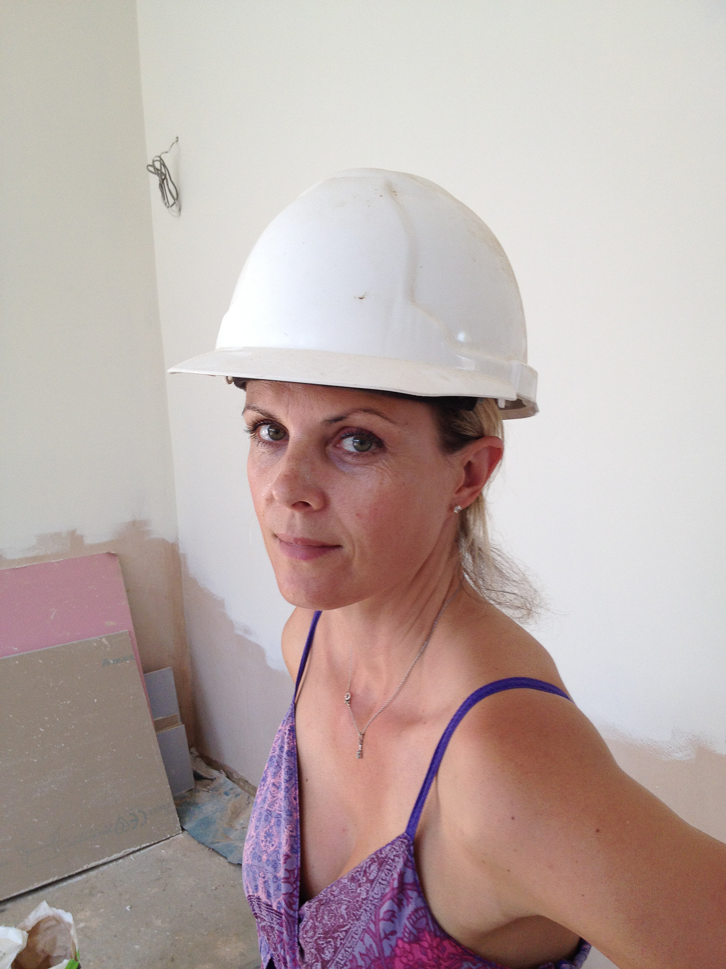 Channelling Hard hat Chic…