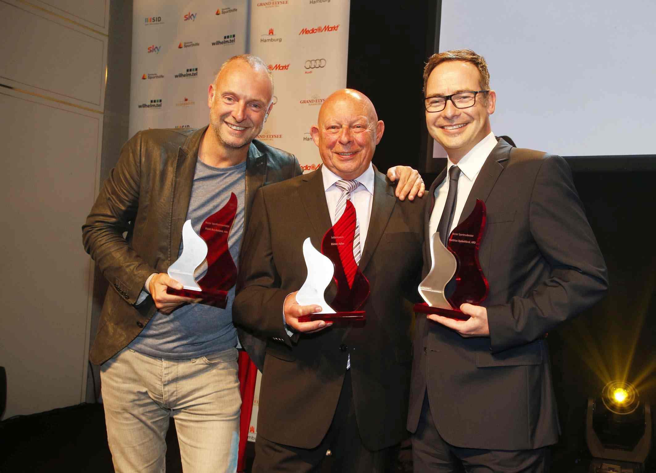 1. Platz Deutscher Sportjournalistenpreis 2015