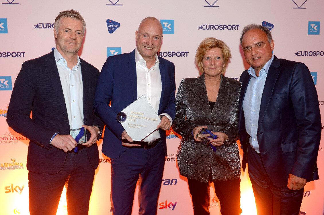 1. Platz Deutscher Sportjournalistenpreis 2018