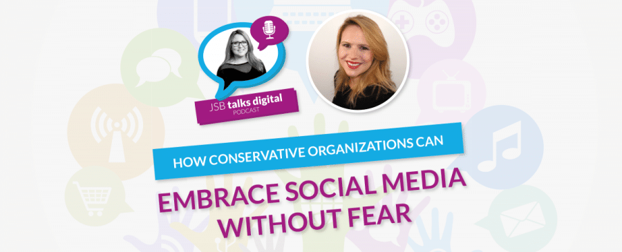 Digital Training Institute - JSB Interviews Lucy about embracing Social Media without fear.