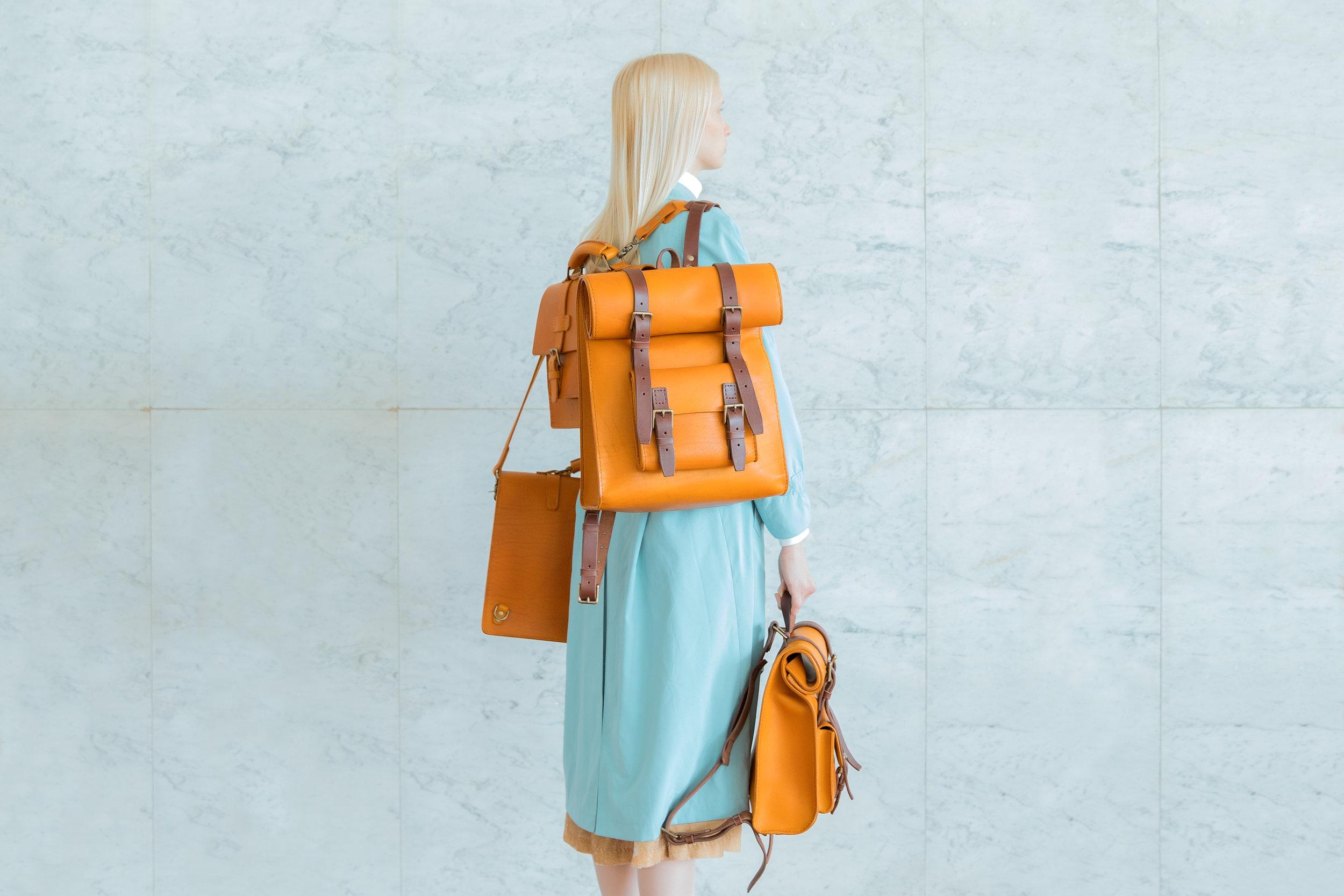 Maria Svarbova photography of luxury handmade leather bags