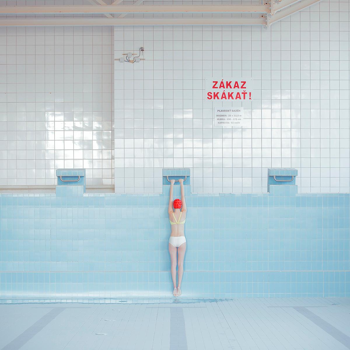 Maria Svarbova swimming pool photo