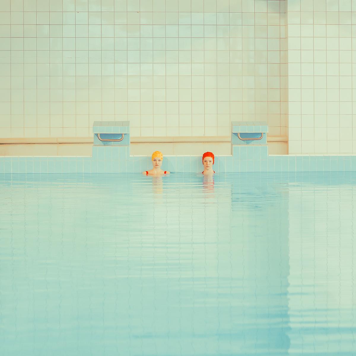 Maria Svarbova communist pool