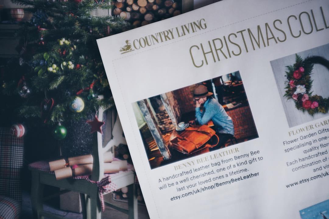 BennyBee in Country Living magazine
