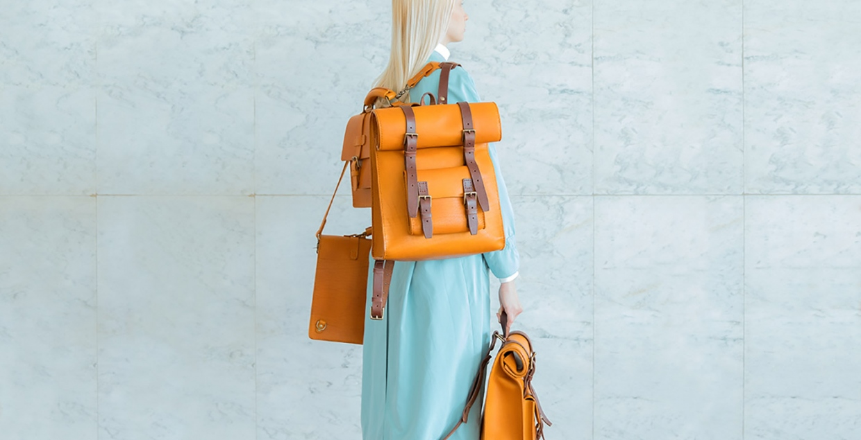 Maria Svarbova photography for Benny Bee leather bags