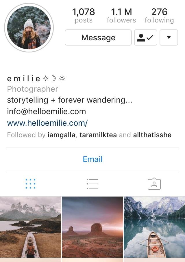 Emilie Ristevski Instagram