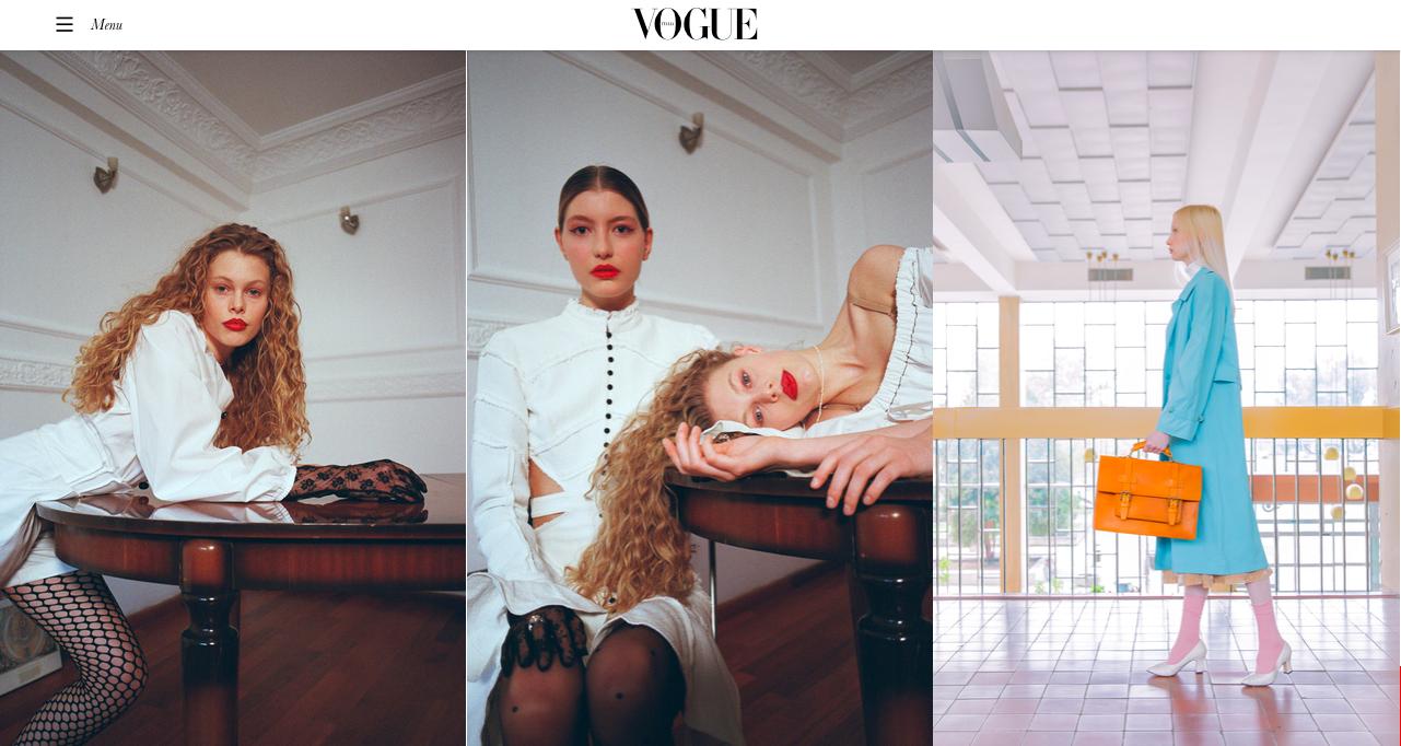 Vogue Italia with Maria Svarbova