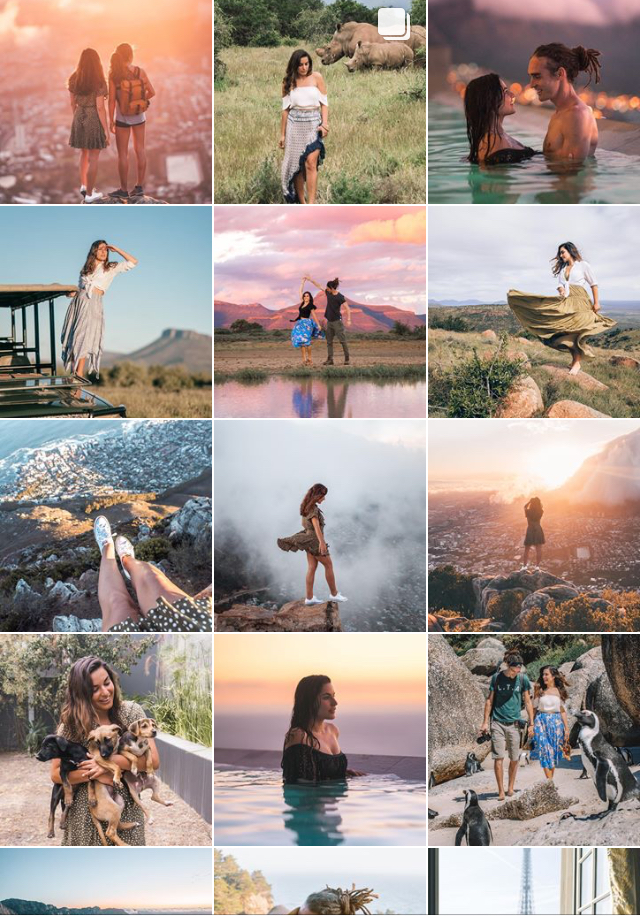 Raya Was Here travel instagram feed