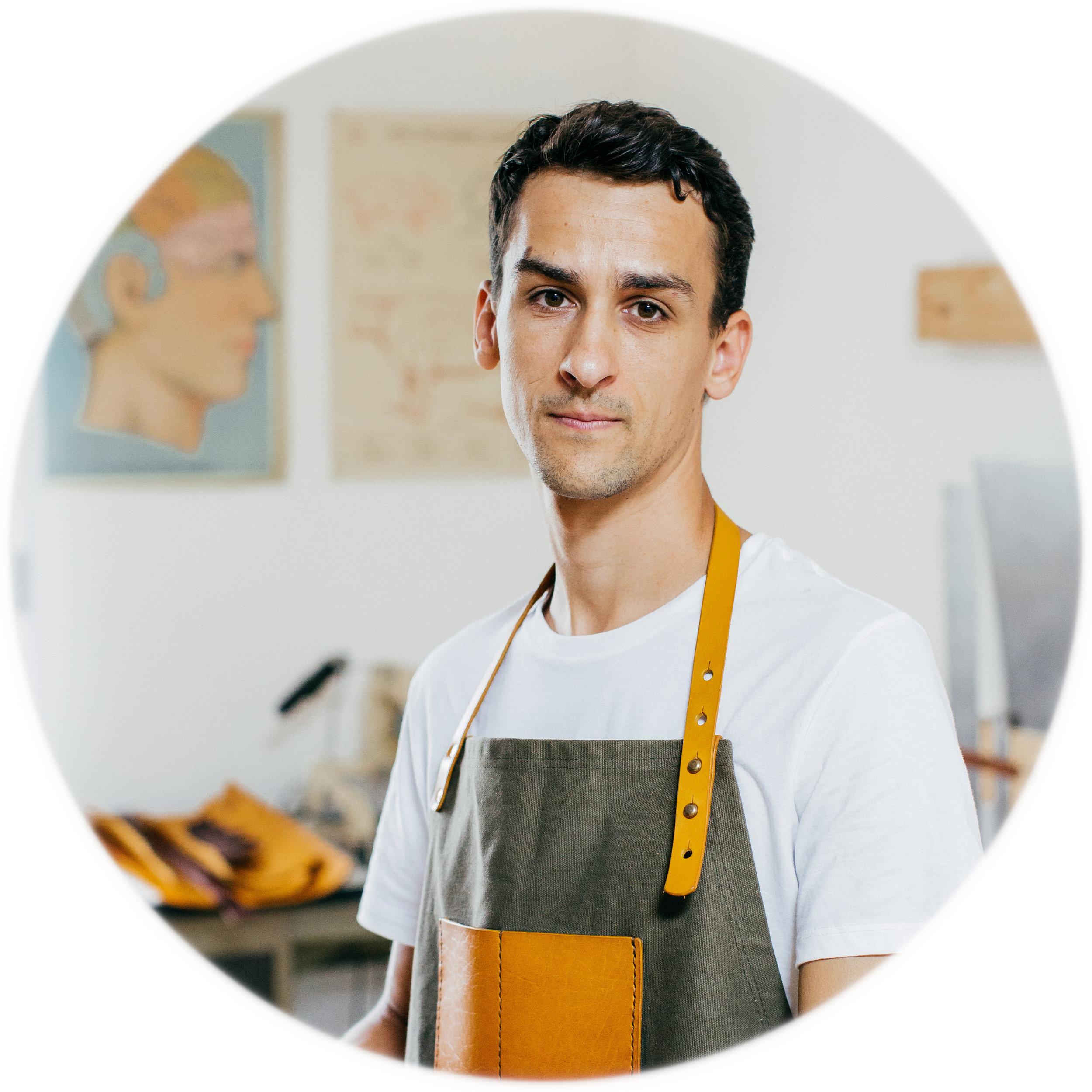 Ben, BennyBee head of the workshop