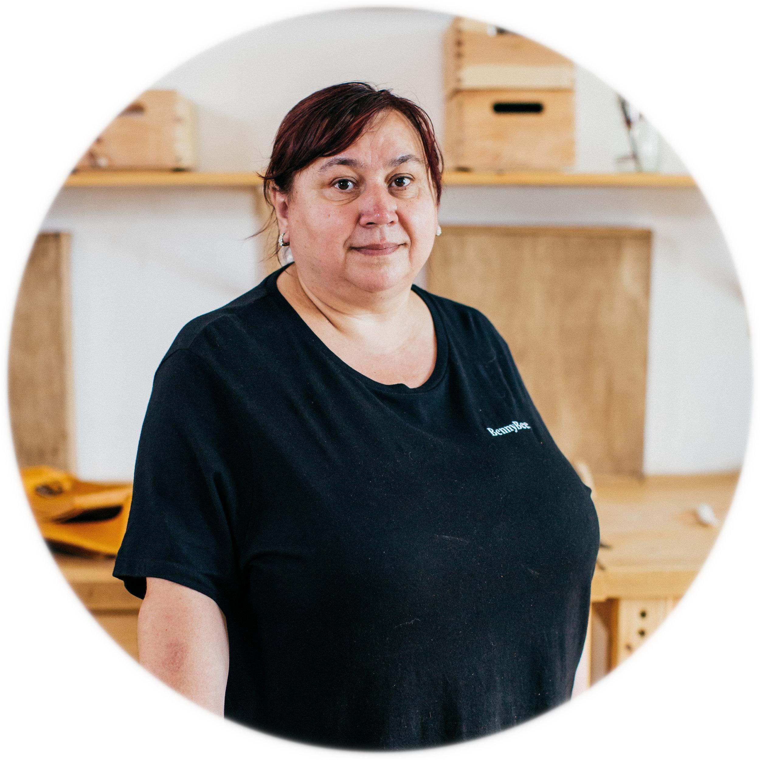 Bozena, BennyBee craftswoman