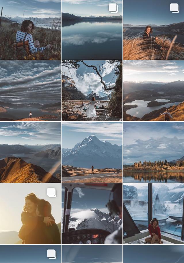 Travel instagram feed by Carmen Huter