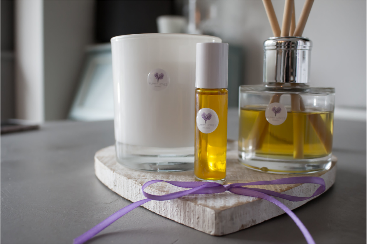 Our Scents - Designed to hep you relax, create a cozy atmosphere, and calm your mind; our delicious range of scents are designed with mummies in mind.