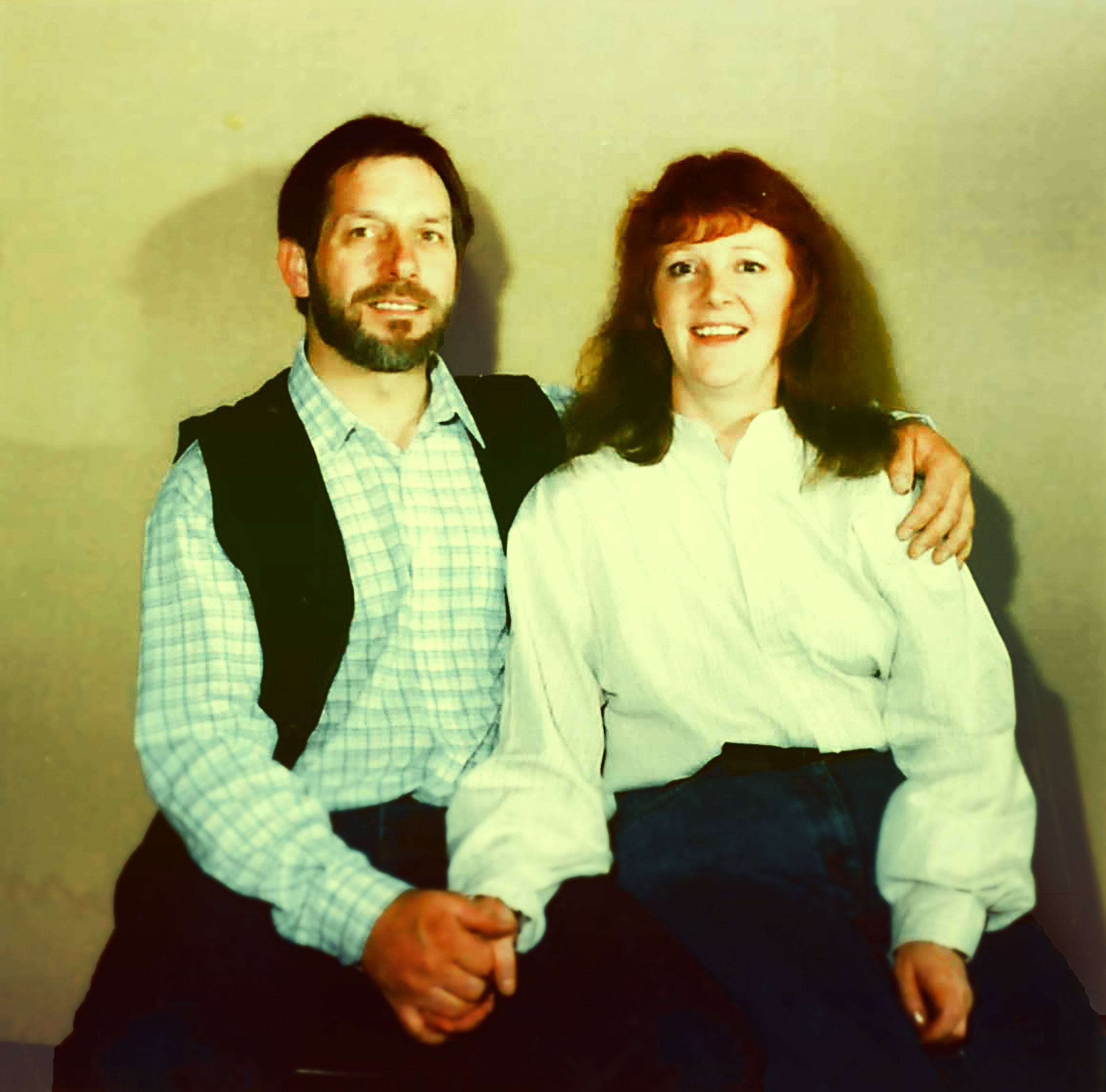 Sam & Anna c.1993— he was made Pastor of a small church in Dumfries