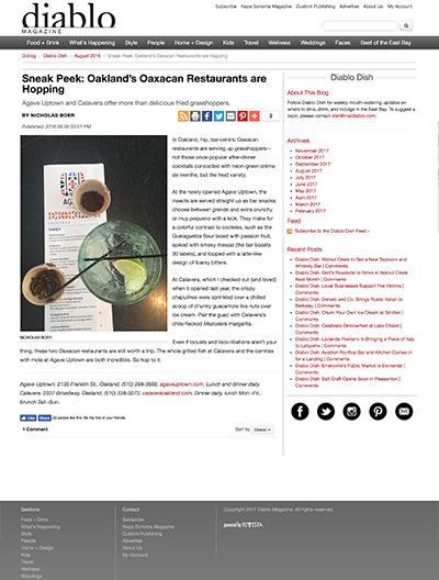 Diablo Magazine | Calavera