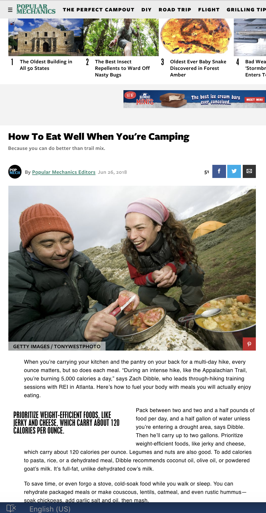 Popular Mechanics | Patagonia Provisions