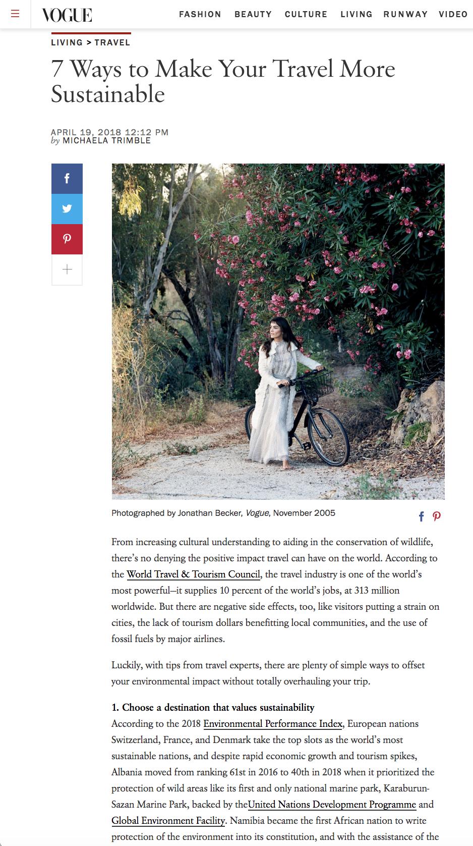 Vogue | Patagonia Provisions