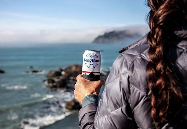 Excited to try the Long Root Wit, a new beer by @patagoniaprovisions. Photo by @amykumler.