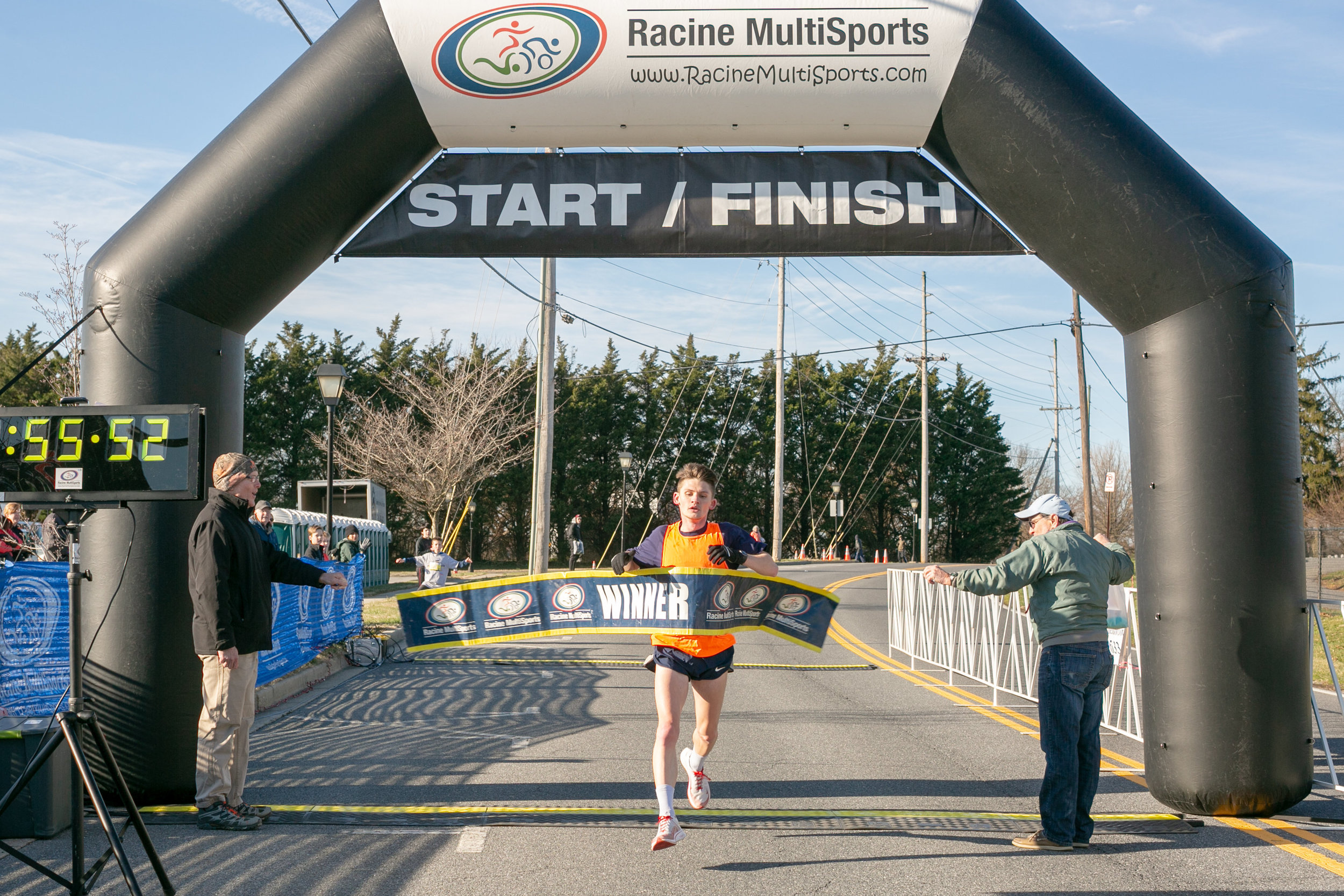 Congratulations to overall 2019 Mission 10 Miler Winner Scott Baker  55:50