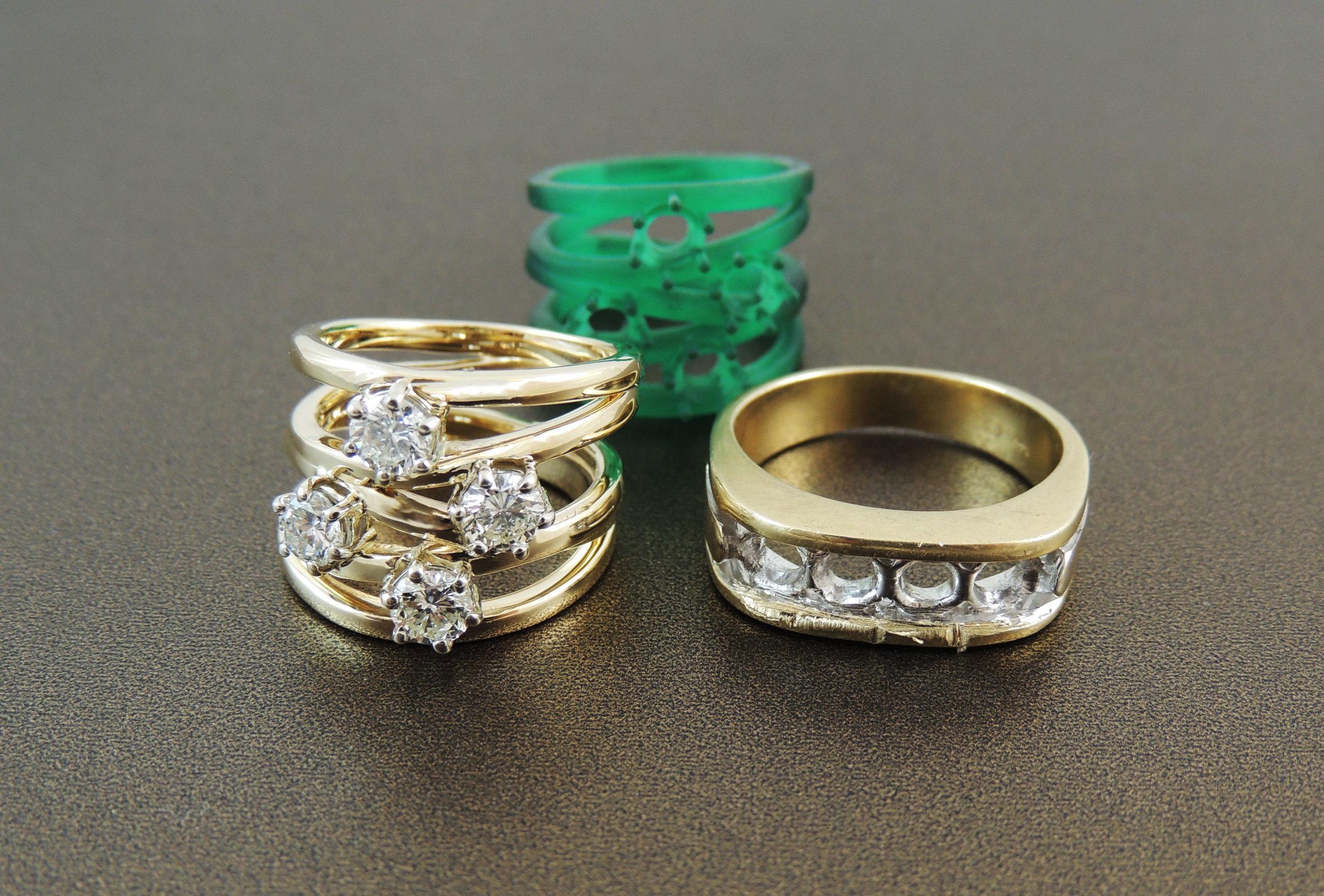 Redesign using sentimental diamonds