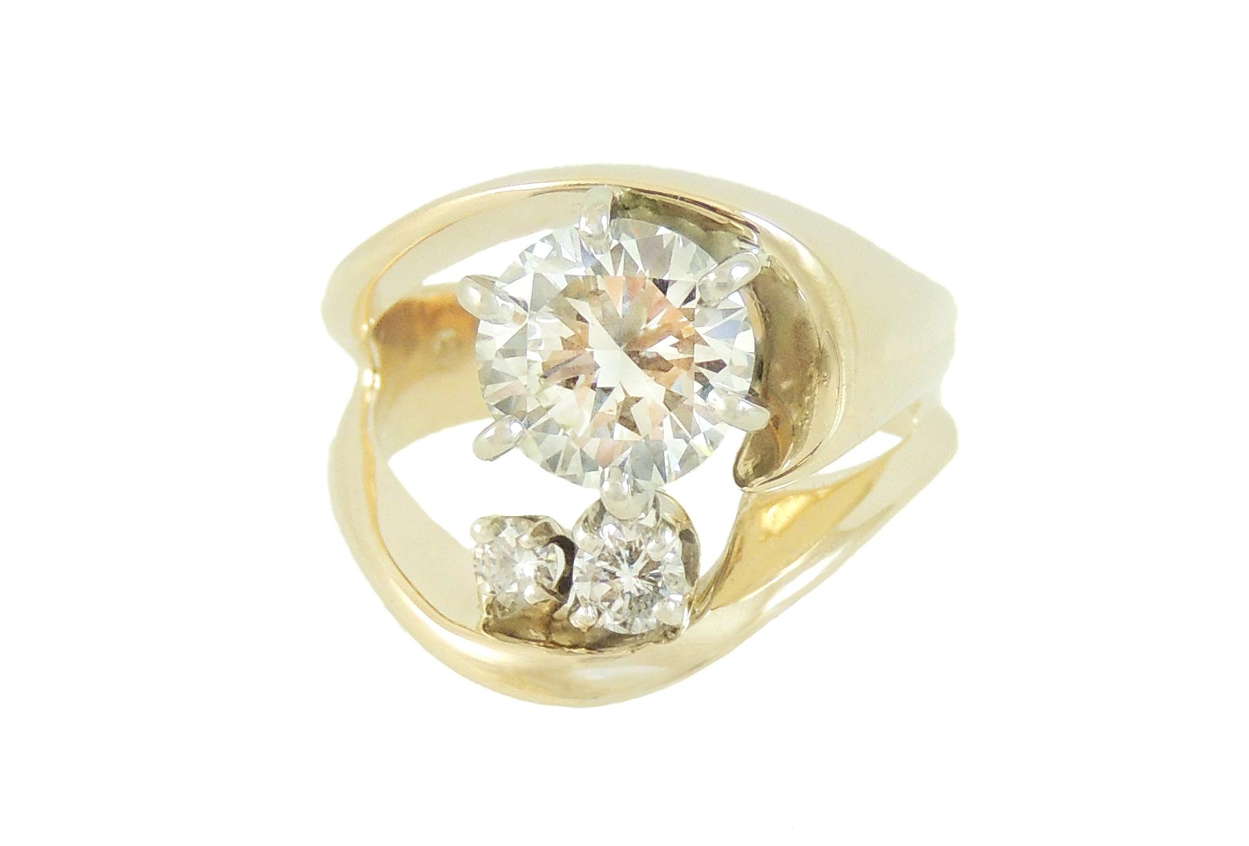 Hessonite Garnet Ring- After