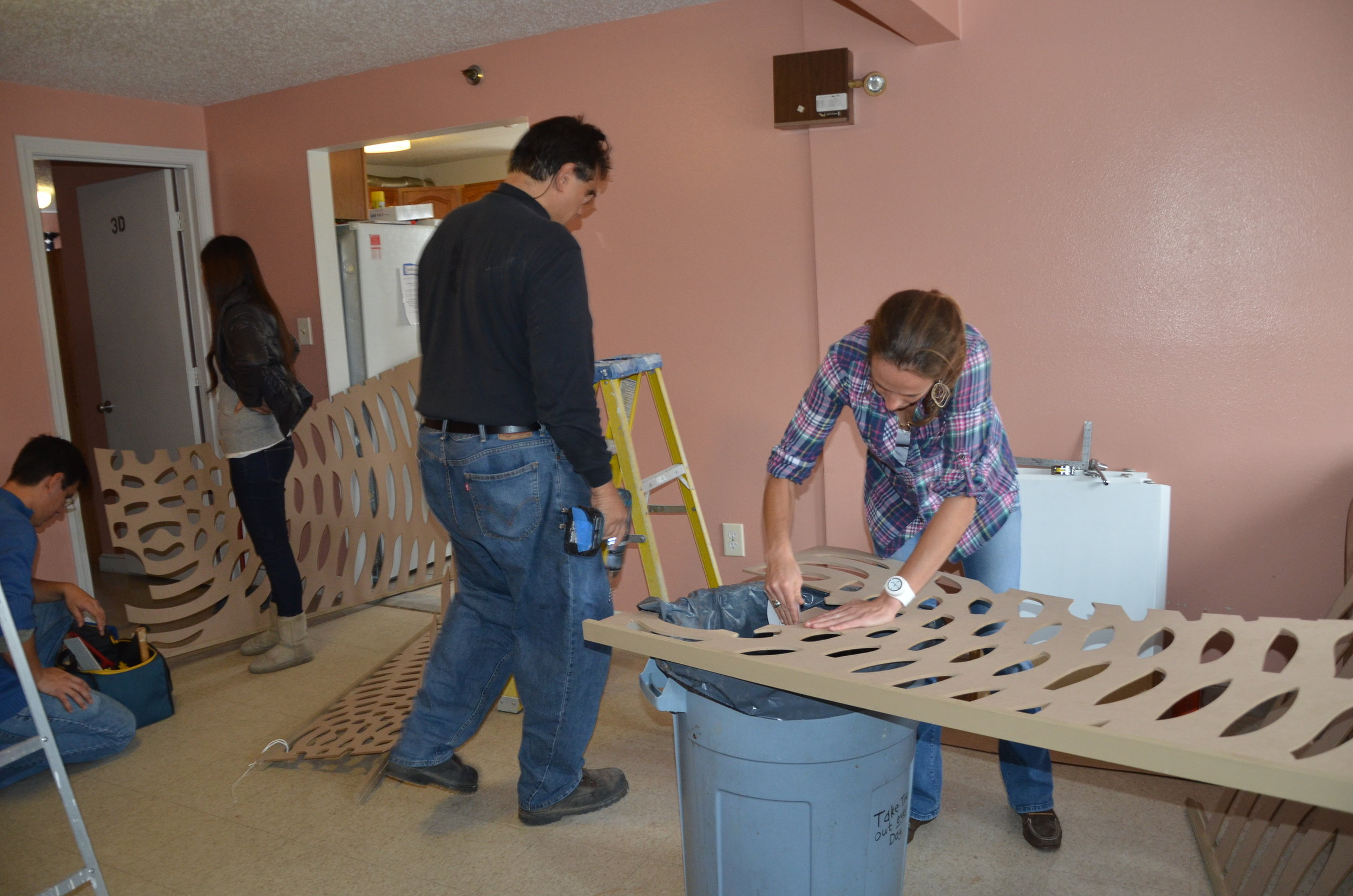 WOONSOCKET FAMILY SHELTER  INSTALLATION