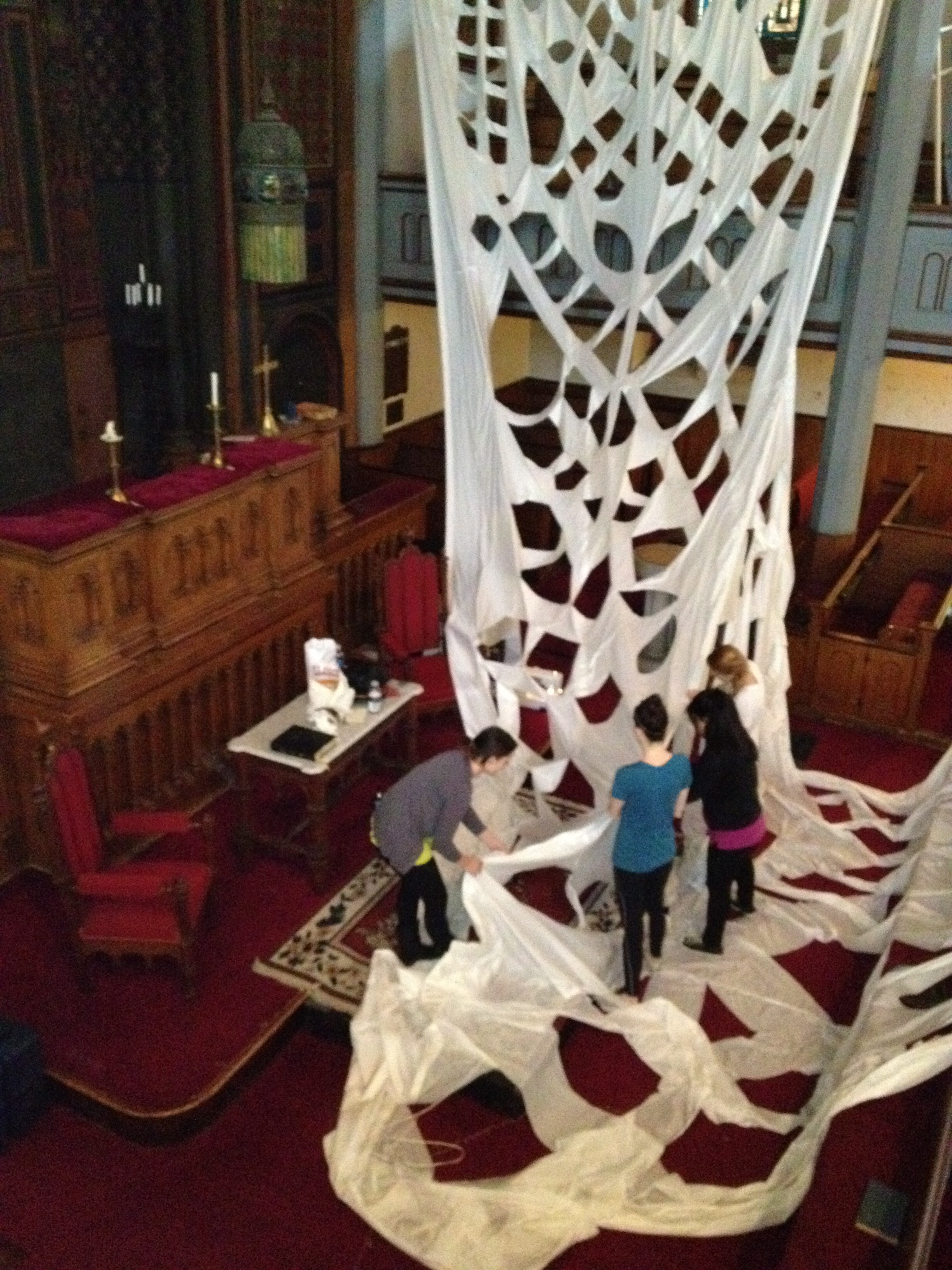 INSTALLING AT  NEWPORT CONGREGATIONAL CHURCH