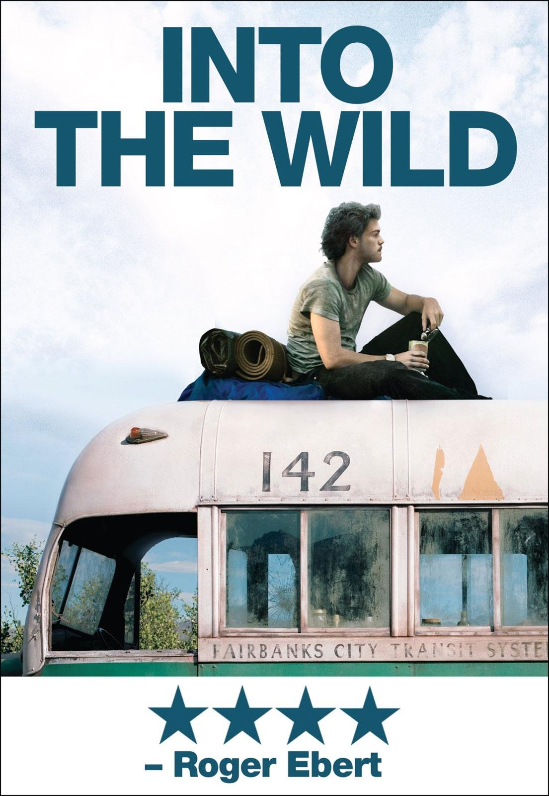 Emile Hirsch in Into The Wild.  Image source: Amazon.com