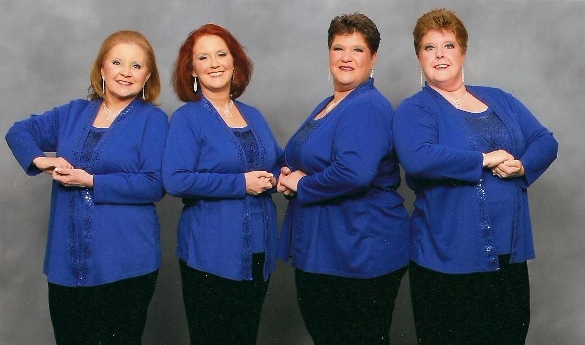 Bearfoot Quartet  - Patti Platt, baritone; Peggy Coulter, lead; Mindy Cassel, bass; Eileen Robinson, tenor