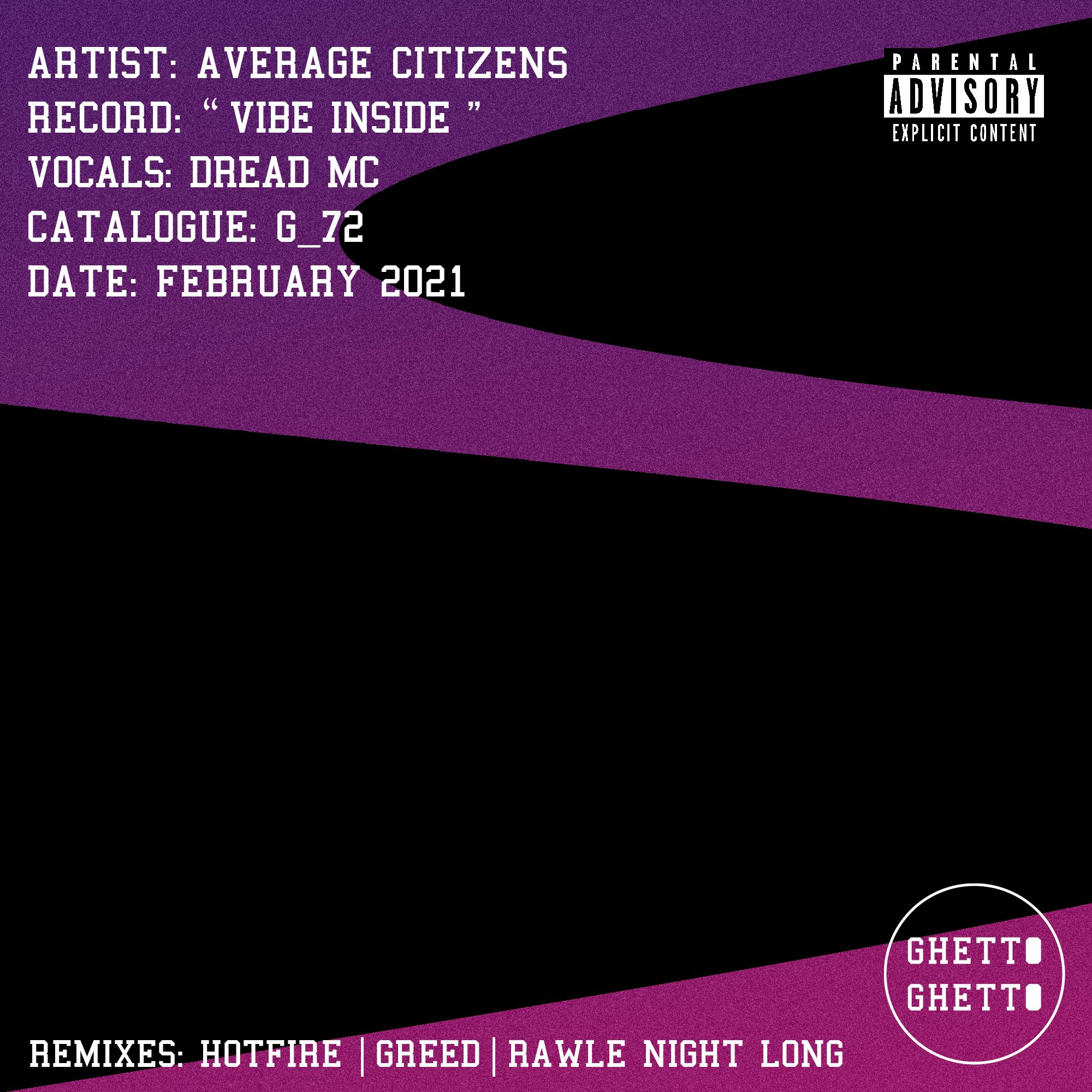 G_72 - Vibe Inside EP