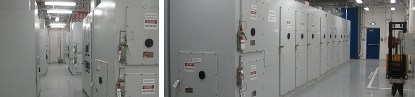 ABB Norway / SABIC Saudi Arabia 13.8 kV Enclosed Filter Banks, 9 Banks x 17 MVAR, 153 MVAR total, Arc-Resistant to IEC and IEEE