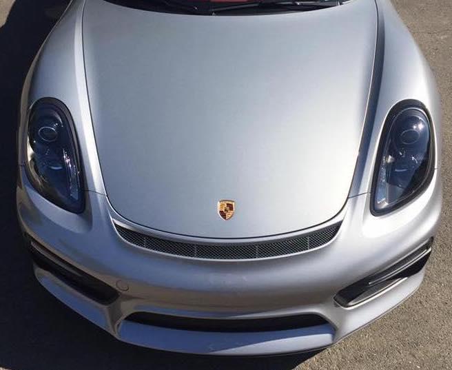 Porsche Boxster Clear Bra
