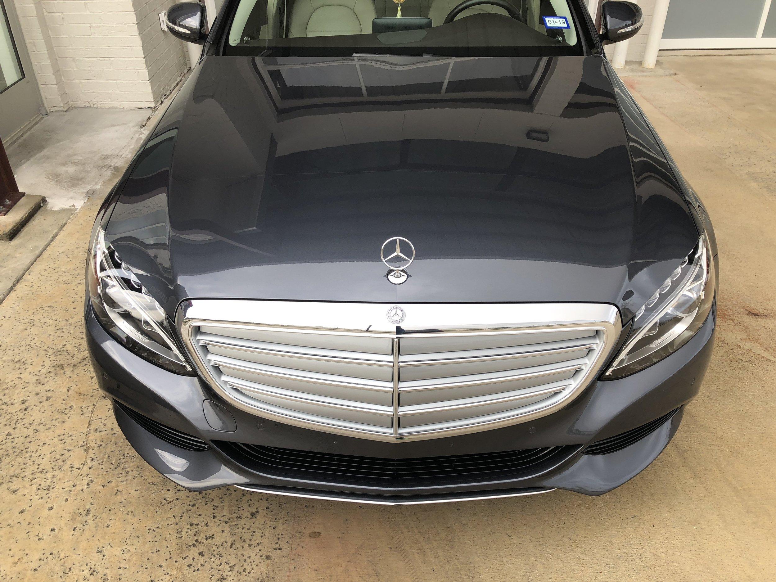 Mercedes Clear Bra Texas