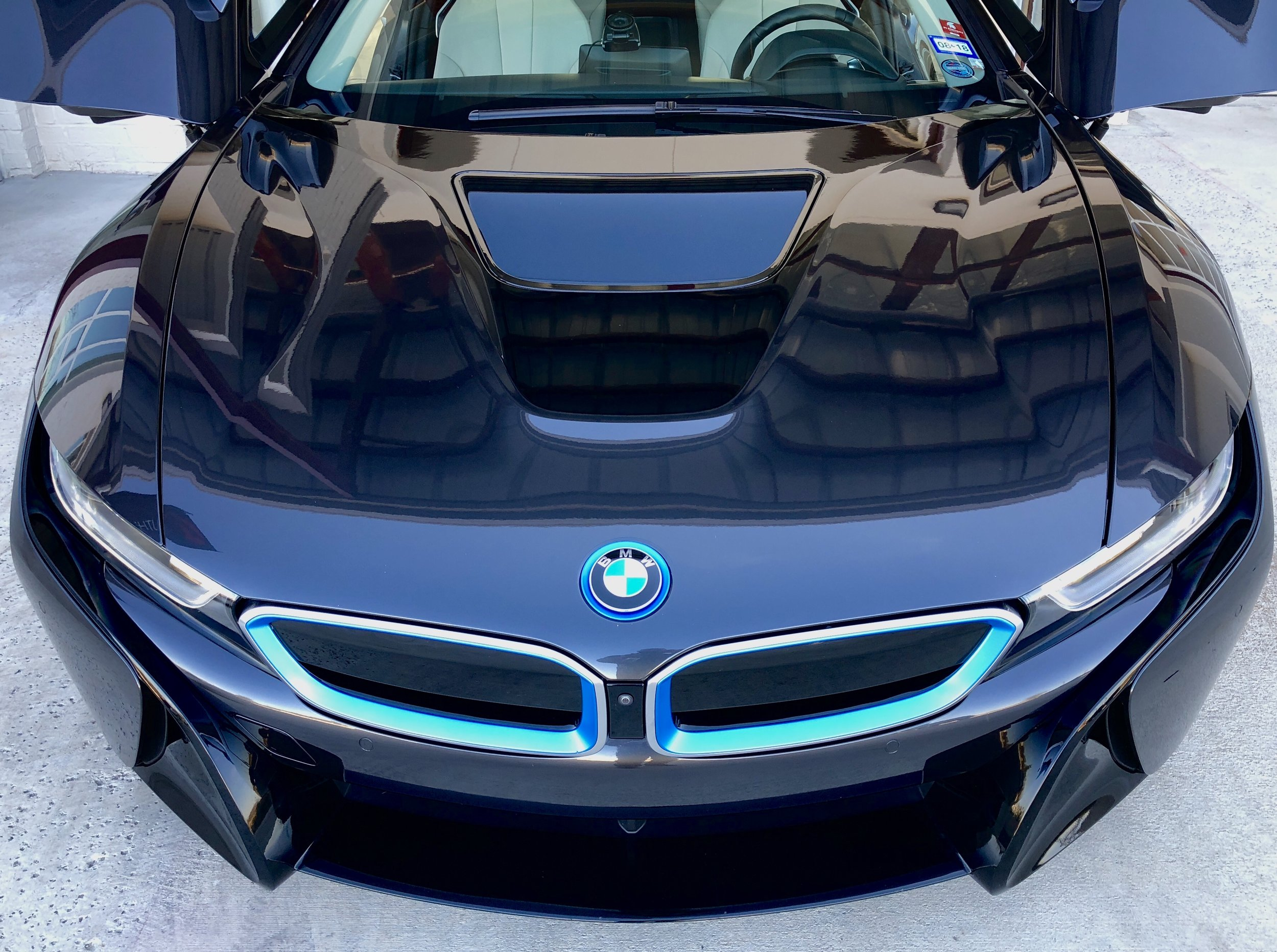 BMW i8 Paint Protection Film