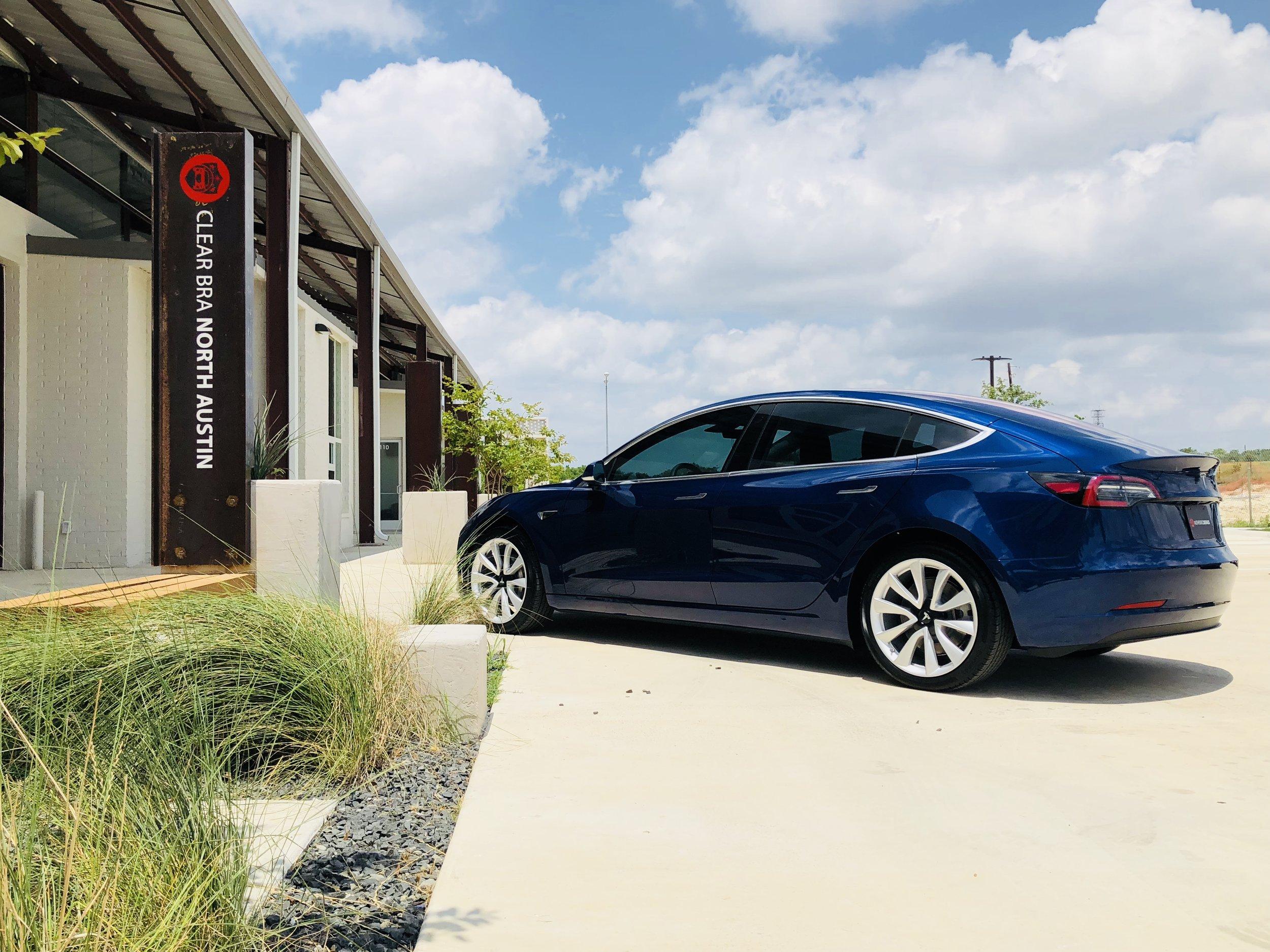 Tesla Clear Bra Texas