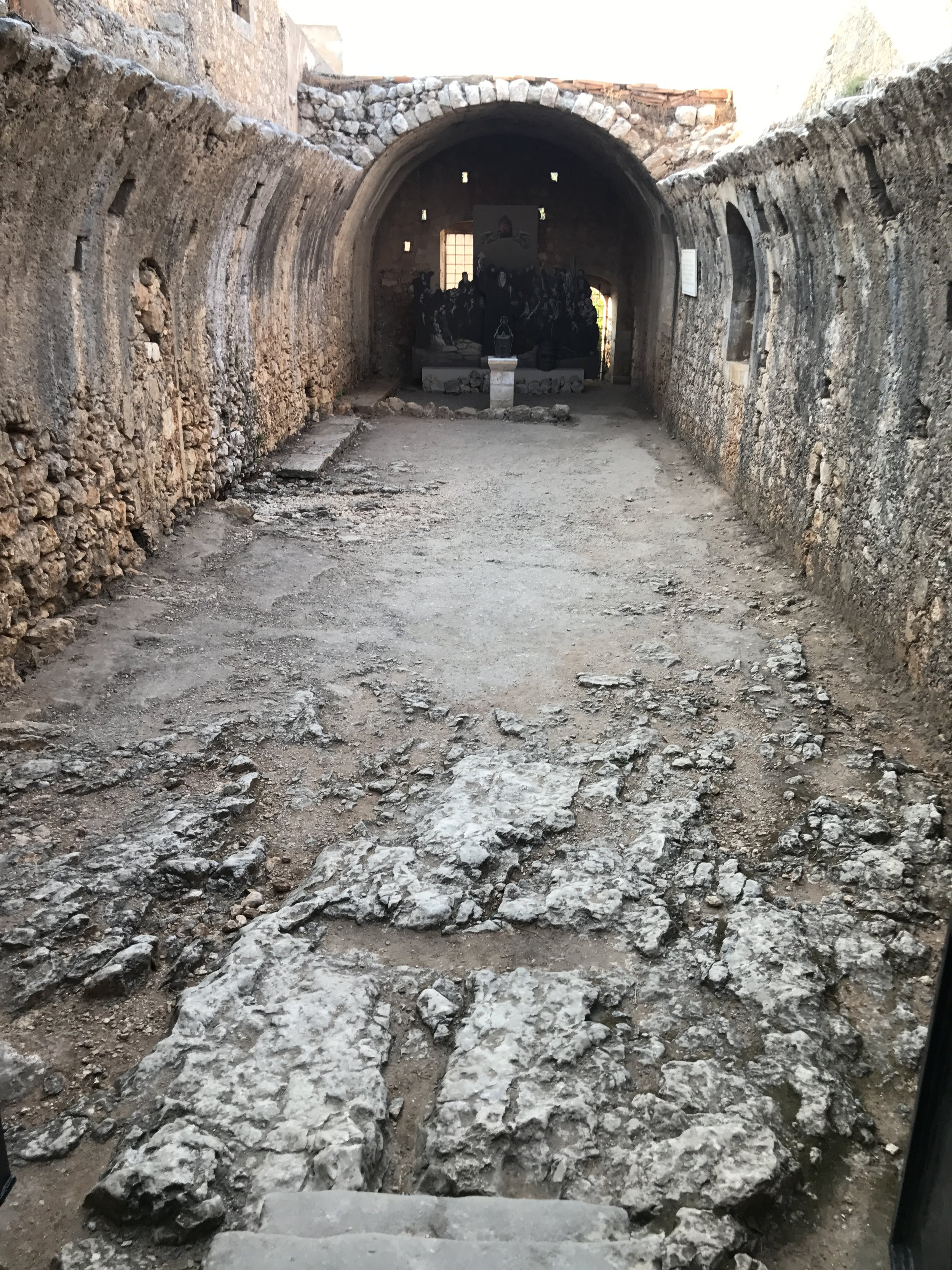 The Powder Keg Room and Memorial of the ones who Perished here